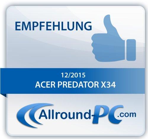 Acer Predator X34 - 12