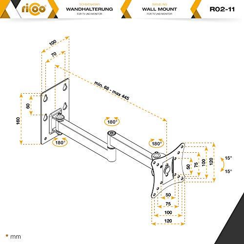Ricoo R02-11 Wandhalterung - 7