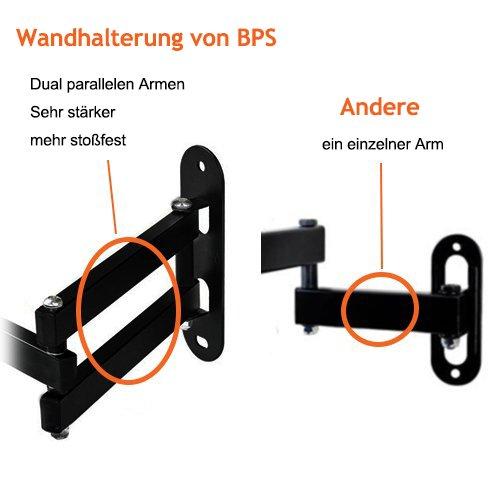 BPS Wandhalterung schwenkbar neigbar - 4