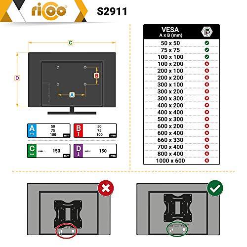 Ricoo S2911 Wandhalterung - 5