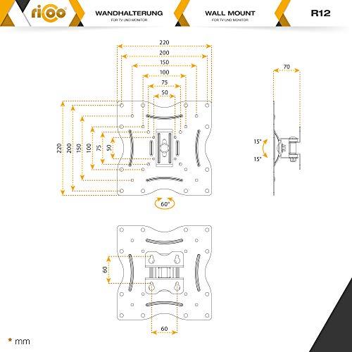 Ricoo R12 Wandhalterung - 7