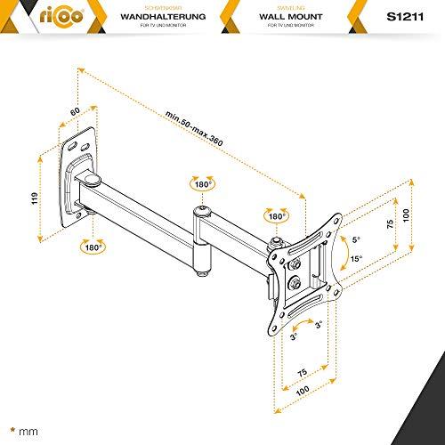 Ricoo S1211 Wandhalterung - 6