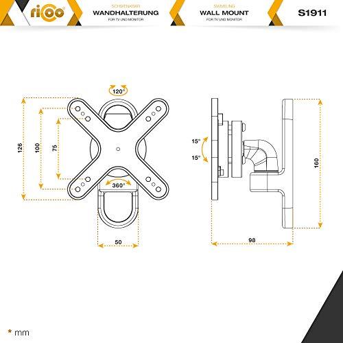 Ricoo S1911 Wandhalterung - 7
