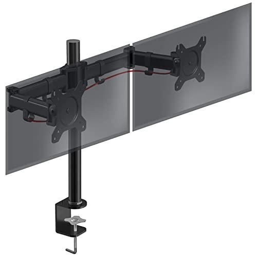 Duronic DM252 Tischhalterung für 2 Monitor