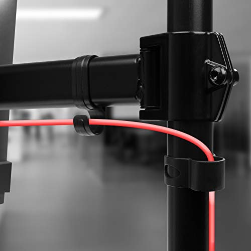 Duronic DM252 Tischhalterung für 2 Monitor - 7