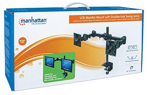 MANHATTAN 420808 Tischhalterung für 2 Monitore - 5