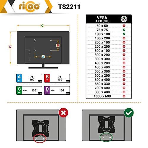 Ricoo TS2211 Tischhalterung - 5