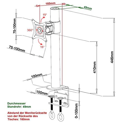LCD 480S Tischhalterung - 2