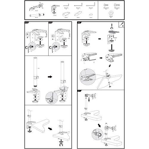 SAVONGA 522201L Tischhalterung - 5
