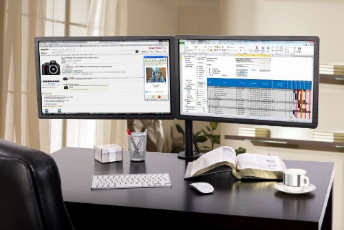 Lavolta Monitorhalterung – Tisch für 2x Monitore - 4