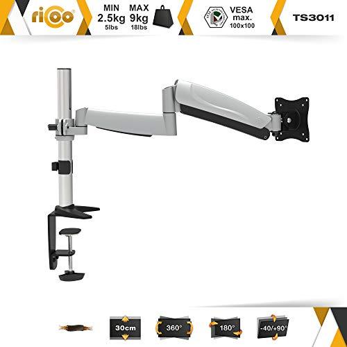 Ricoo TS3011 Tischhalterung mit Gasdruckfedergelenk - 2