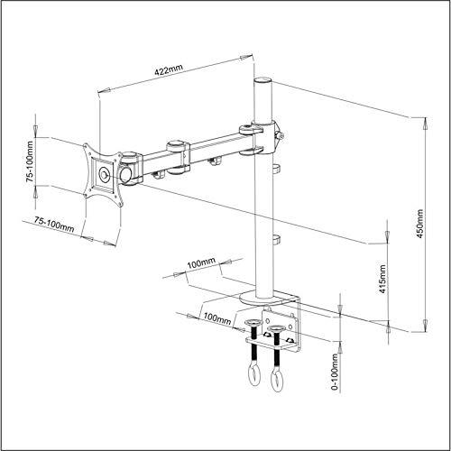 Trademount LCD352-S Tischhalterung - 5