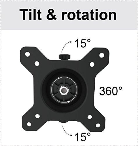HFTEK MP230C-L2 Tischhalterung fuer 3 Monitore - 8