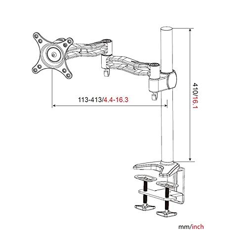 HFTEK HF07B Tischhalterung - 3