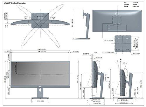 Dell UltraSharp U3415W - 7