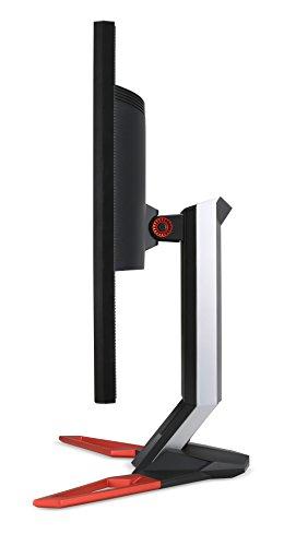 Acer Predator XB321HKbmiphz 81 cm (32 Zoll) Monitor (HDMI, USB 3.0, 4ms Reaktionszeit, Höhenverstellbar, NVIDIA G-Sync) schwarz/rot -