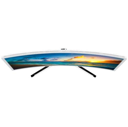HKC NB27C 27-inch Curved LED Monitor, Full-HD 1920x1080, HDMI, VGA, Flicker Free, Low-Blue light - weiss - 4