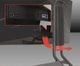 Acer Predator x34 Anschluß